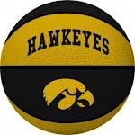 (Iowa Hawkeyes) - NCAA Alley Oop Youth Size Basketball by Rawlings