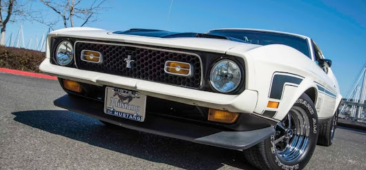 Derek Quick's 1972 Ford Mustang Mach 1 Went From Daily Driver To Show-Stopper