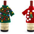 Ugly Christmas Sweaters For Your Wine Bottles