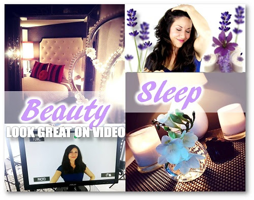 Look Good on Video. Get Your Beauty Sleep!