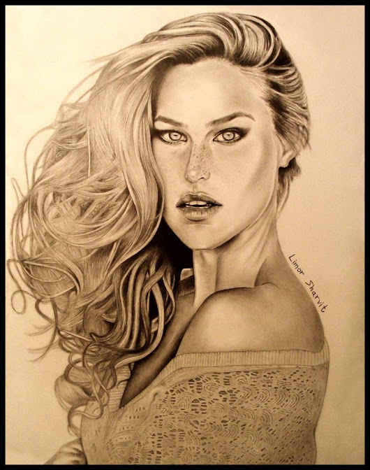 What the secret to your success has to do with the portrait of Bar Refaeli