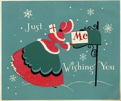 1940's Christmas Card