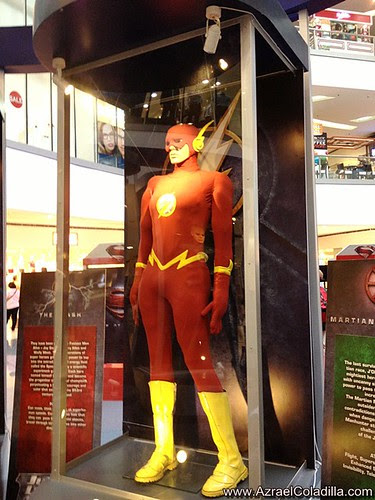 DC Superheroes exhibit in SM North