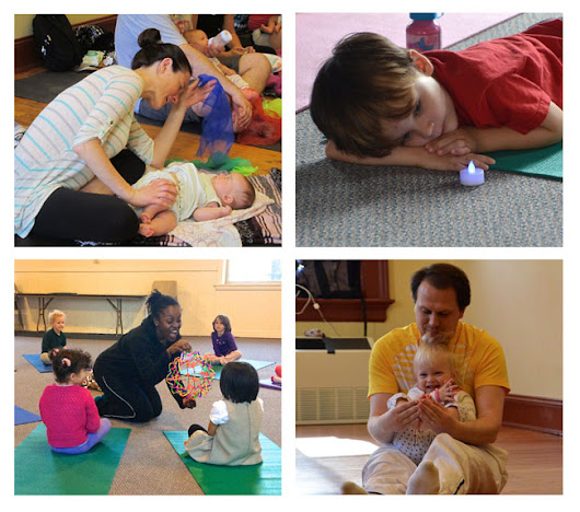 Fall Classes Enrolling: Yoga for Children and Families