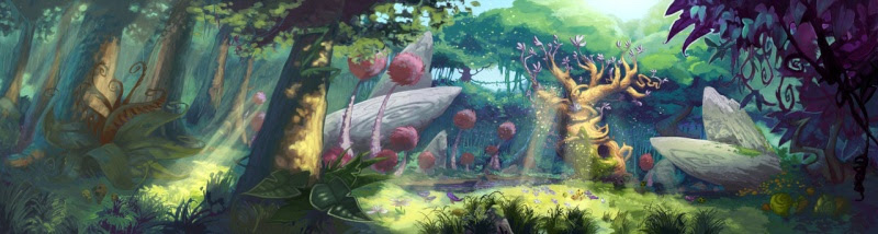 Artwork Rayman 4 la Forêt des Songes