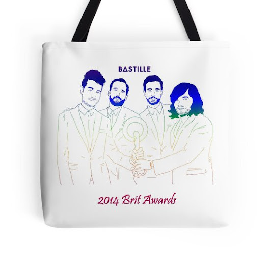 Bastille at the Brit Awards (color version)