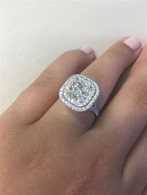 25  best ideas about Double Halo Engagement Ring on