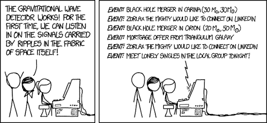 xkcd: Gravitational Waves