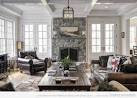 Design ideas for family room with fireplace Traditional family ...