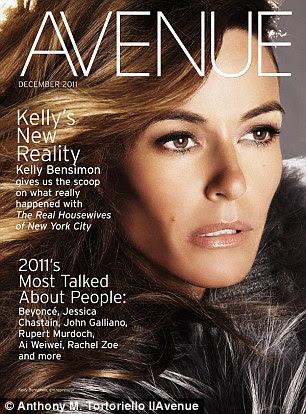 De volta à realidade: As fotos sensuais podem ser encontradas neste mês Avenue revista