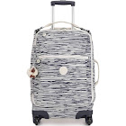 Kipling Darcey Small Carry-On Rolling Luggage Scribble Lines
