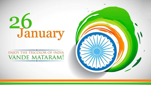 26 january Happy Republic Day Message Wallpaper Status