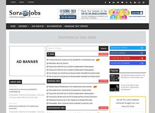 Sora Jobs Blogger Template