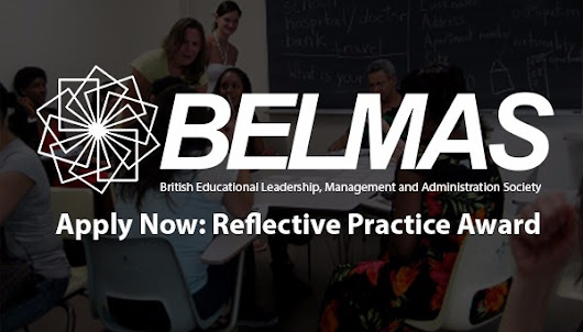 Apply for the BELMAS Reflective Practice Award