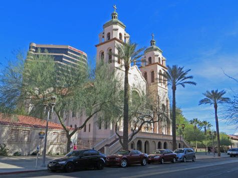 St. Mary's Basilica in Phoenix Arizona