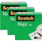 Scotch Magic Invisible Tape - 3 per pack
