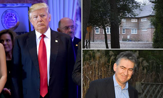 Ex-MI6 spy 'who worked with murdered Litvinenko' flees his £1.5m home