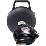 Grillbot GBU:BUN3:BLACK Automatic Grill Cleaning Robot with Carry Case, Black by VM Express