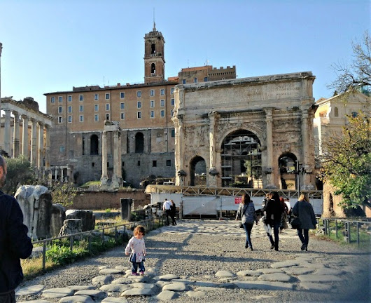 How to visit the Roman forum with kids