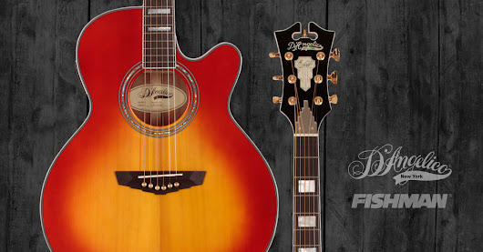 Enter to Win a D'Angelico Mercer Grand Auditorium Guitar from Fishman