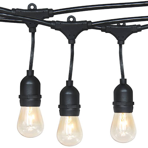 Best Choice Products Commercial Weatherproof 48' Outdoor String Lights