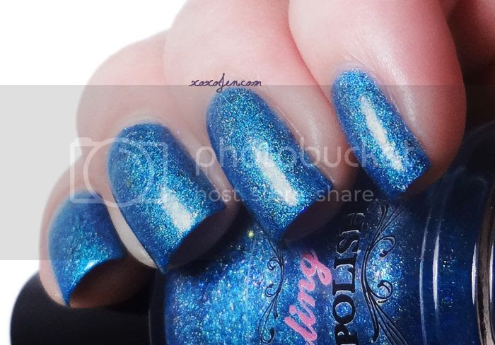 xoxoJen's swatch of Darling Diva Tina The Labradorite