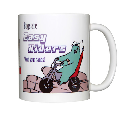 Bugs Are Easy Riders Mug, 11oz