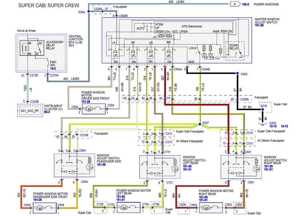 98 F250 Window Wiring Diagram - Wiring Diagrams Name trace-academy -  trace-academy.illabirintodellacreativita.it   Ford Power Window Wiring Diagram      trace-academy.illabirintodellacreativita.it
