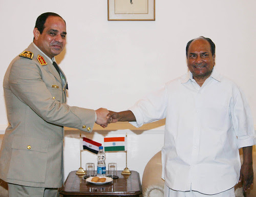 INDIA-EGYPT DEFENCE TALKS by Chindits