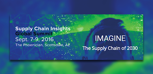 Supply Chain Insights Global Summit 2016 | Sep 7, 2016 | Events | NeoGrid - North America