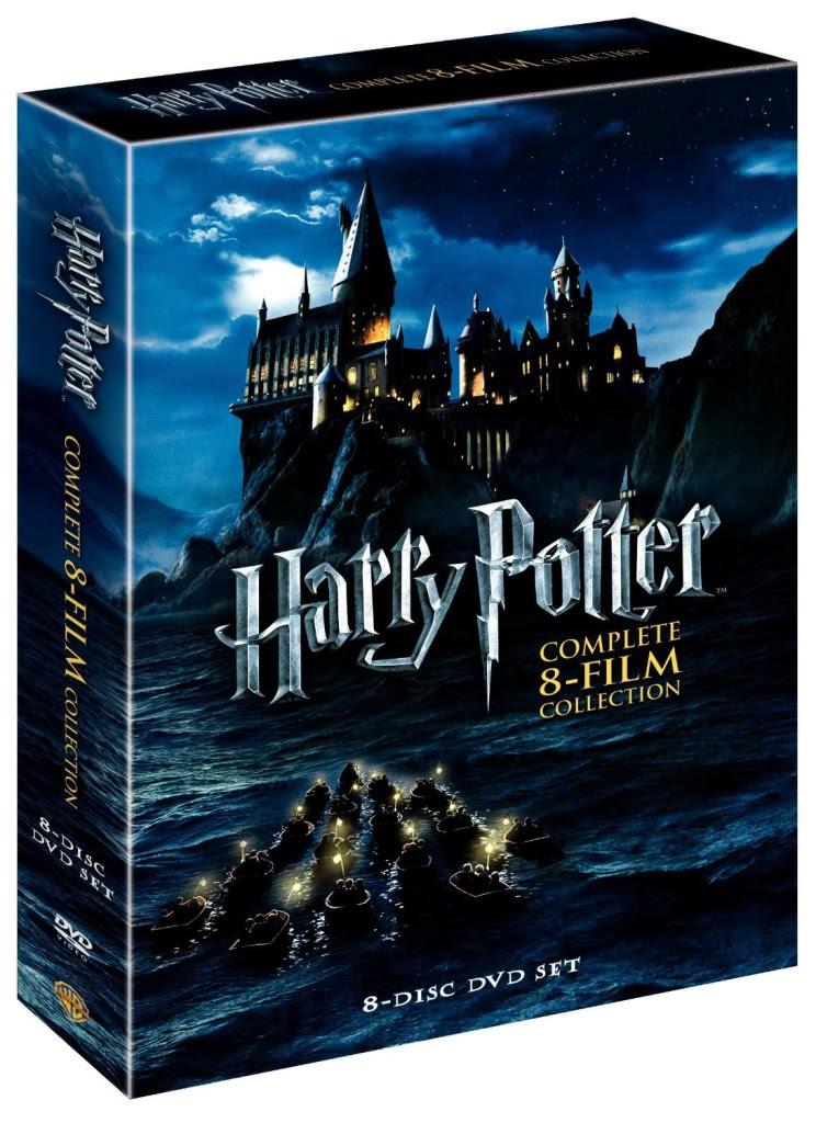 Harry Potter 8 film collection DVD set