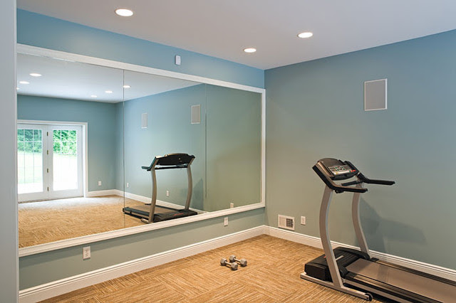 Traditional classic home - traditional - home gym - other metro ...
