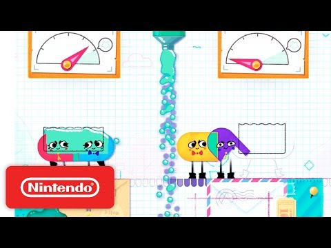 Snipperclips - Cut it out, together! Launch Trailer #NintendoSwitch