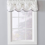 SKL Home Dove Gray Manor 13 inch Valance