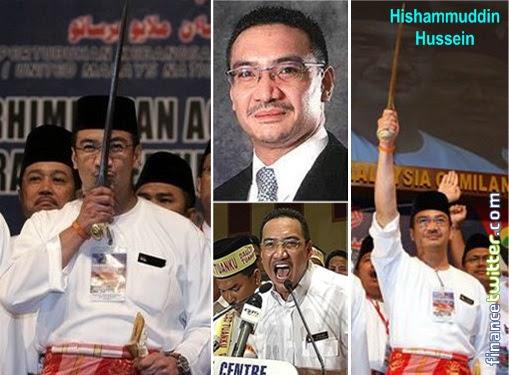 Missing MH370 - Hishammuddin Hussein Keris
