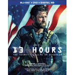 Paramount - Universal Distribution PAR BR59177180 13 Hours - The Secret Soldiers of Benghazi Blu-Ray & DVD Combo with Digital HD
