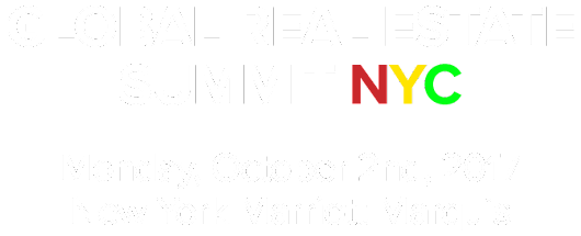 Global Real Estate Summit NYC 2017 |