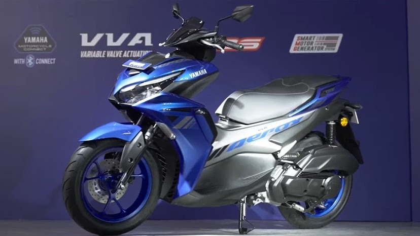 The Aerox is the biggest, most powerful scooter from Yamaha India till date. Image: Yamaha