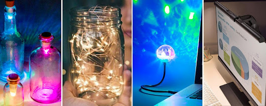 Five Fascinating USB Lights to Spice Up Your Room