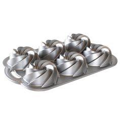 Nordic Ware Platinum Silver Cast Aluminu...