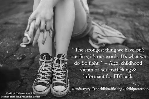 January 11th is #WearBlueDay #humantraffickingawarenessday