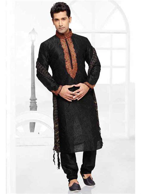 Black kurta pajama designs for men ? FashionEven