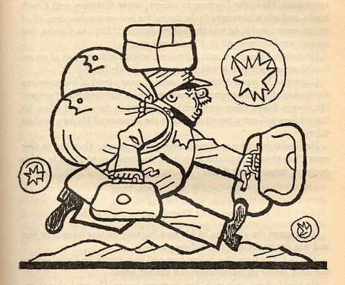 Lada illustration from The Good Soldier Švejk by Hašek