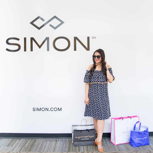 Summer Inspiration from South Shore Plaza, a Simon Mall + a Giveaway - Love Playing Dressup