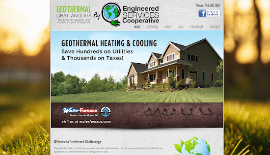 Geothermal Chattanooga Website