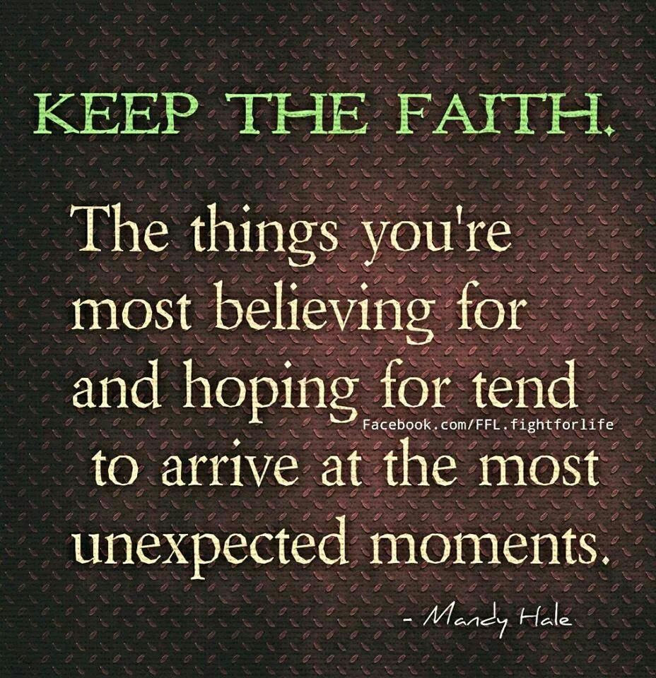 Quotes About Keeping Faith In Love 16 Quotes