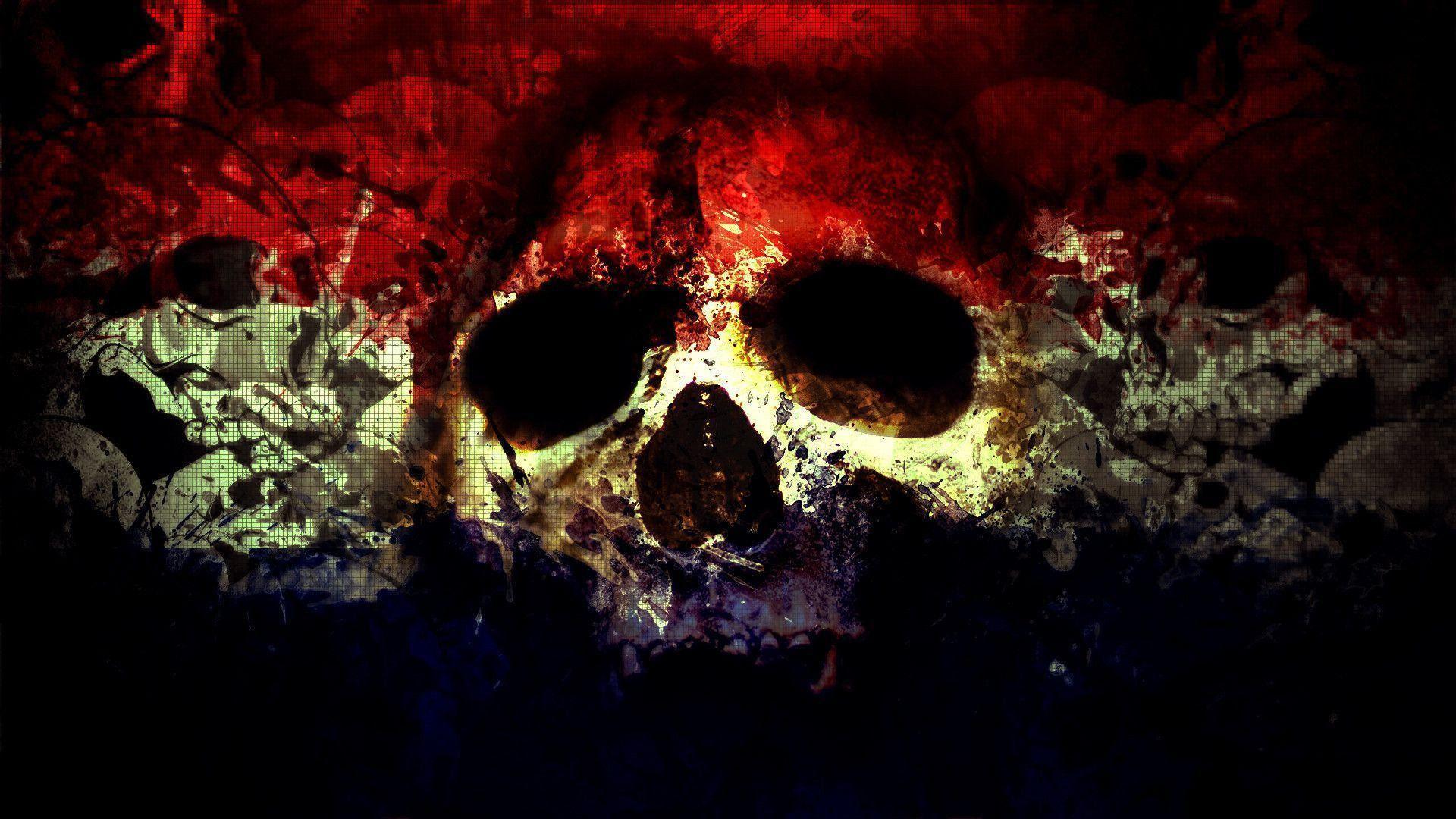 HD Skull Wallpapers  Wallpaper Cave