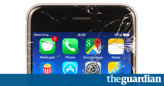 End of the smashed phone screen? Self-healing glass discovered by accident | Technology | The Guardian