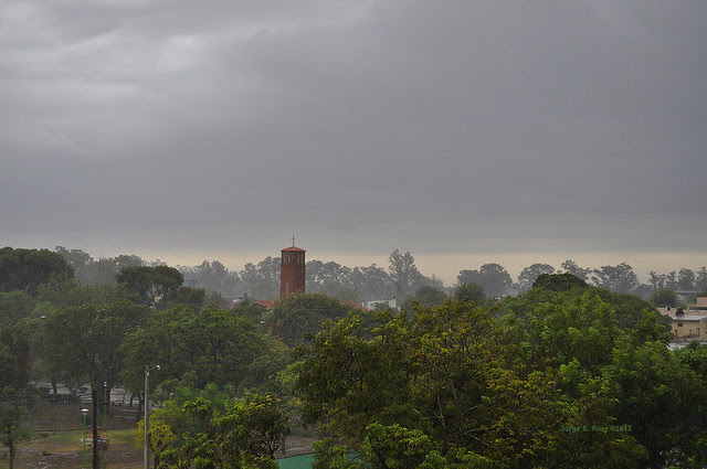 Lluvia de final de verano 2013