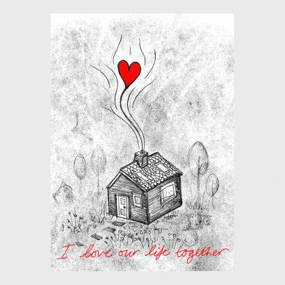 I Love Our Life Together Rachreddesigns